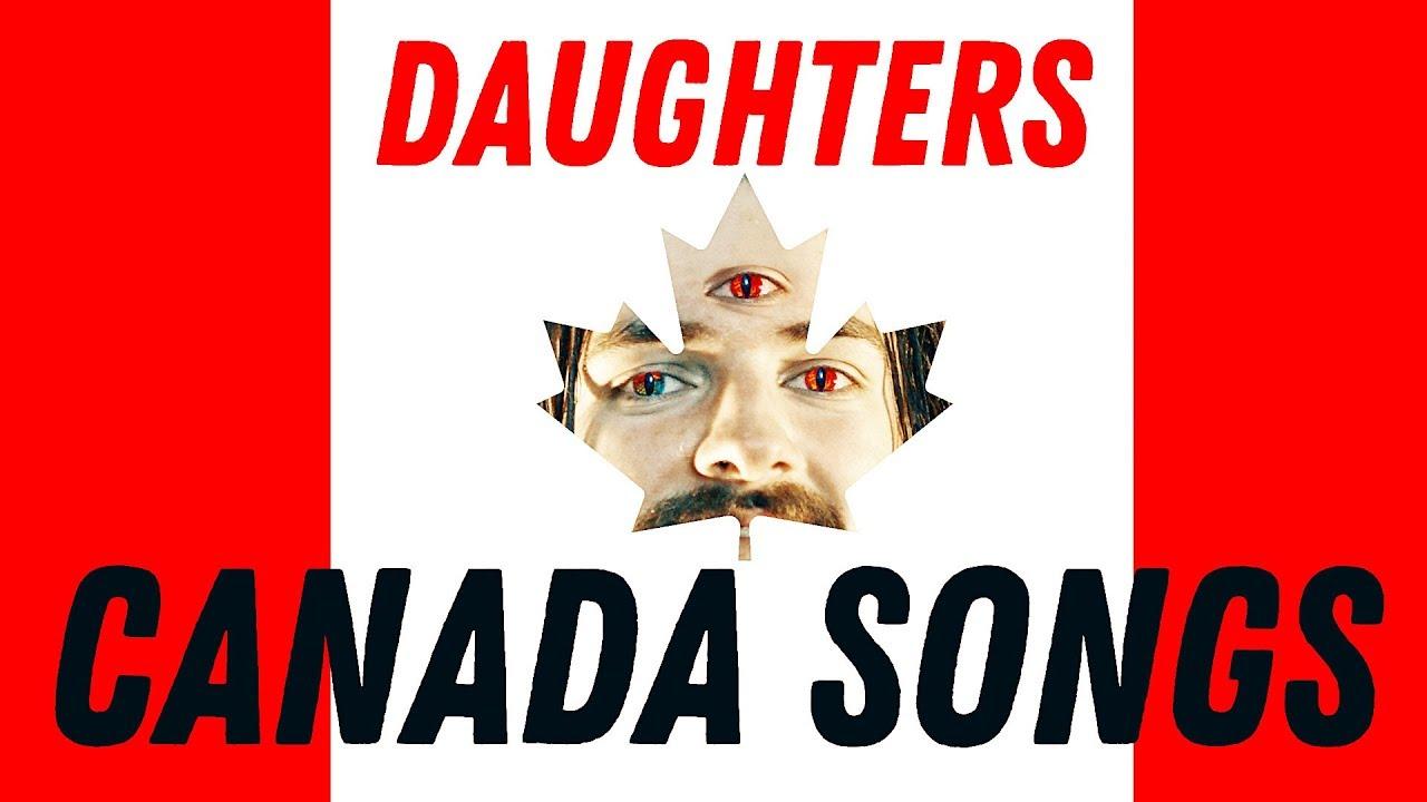 DAUGHTERS – Canada songs [2003] full album guitar cover