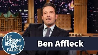 Ben Affleck's Son Calls Jimmy Fallon The Man