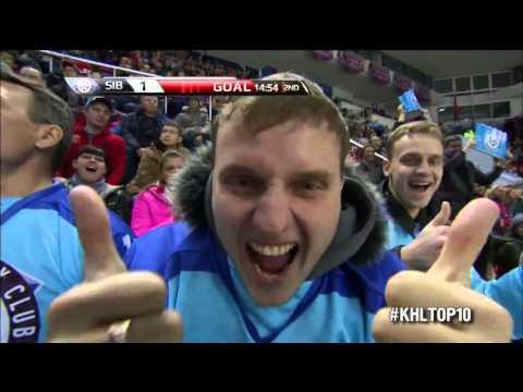 KHL Top 10 Goals for Week 13 / Лучшие голы 13-й недели КХЛ (видео)