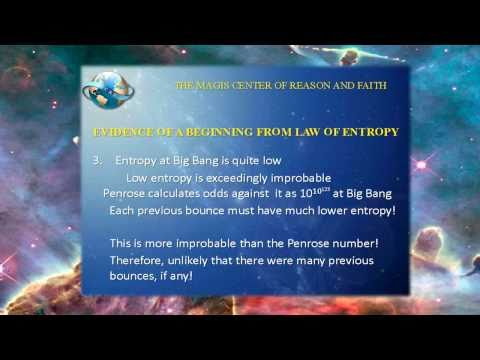 Evidence for the Creation of the Universe via Law of Entropy