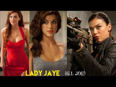 Lady Jaye in G.I. Joe Retaliation