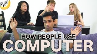 Video How People Use Computer MP3, 3GP, MP4, WEBM, AVI, FLV Oktober 2018