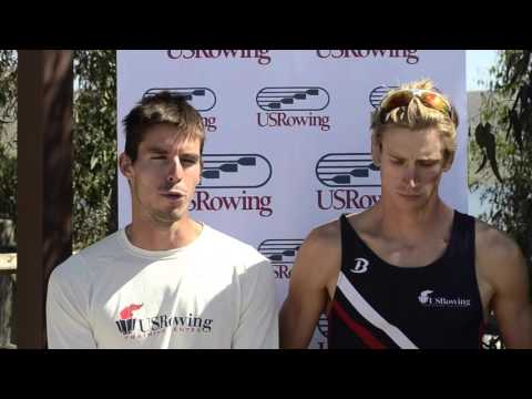 Robin Prendes and Edward 'Mix' King. Lightweight Men's Pair Winners - NSR I