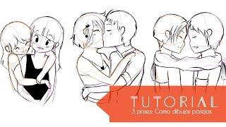 Video Tutorial ۰•●Aprende a dibujar 3 tipos de poses!●•۰ #4 Parejas - parte 1 MP3, 3GP, MP4, WEBM, AVI, FLV April 2019