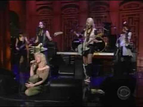 Hold on to Me Live on Letterman 2004
