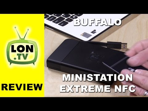Buffalo MiniStation Extreme NFC Review - External USB 3.0 Hard drive - unlocks with NFC
