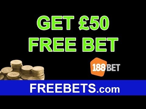 How To Get A £50 Free Bet On 188Bet