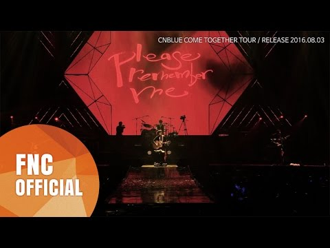 CNBLUE COME TOGETHER TOUR DVD SPOT