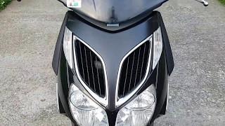 4. Aprilia Sportcity 200cc Startup