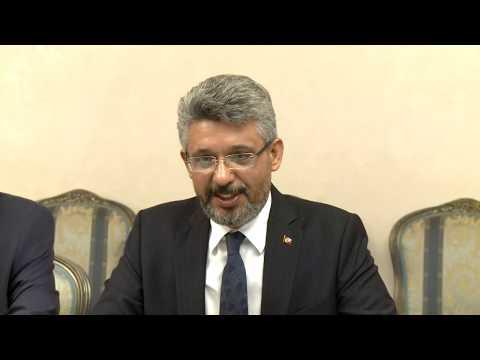 Глава государства провел встречу с делегацией депутатов турецкого Парламента