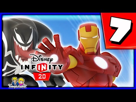 man - SUBSCRIBE to Kwingsletsplays - http://tinyurl.com/mcq6vre Disney Infinity 2.0 SPIDER-MAN & HIS AMAZING FRIENDS! Spider-Man, Nick Fury,Venom,Iron Fist & Nova make up The Ultimate Spider-Man...