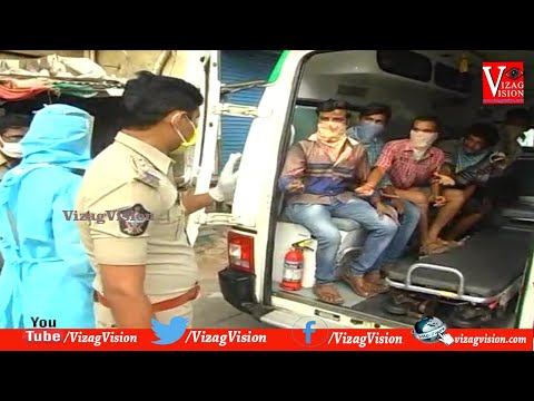 Public Violating Lockdown Rules Special Treatment by Police in Srikalahasti,Vizagvision...