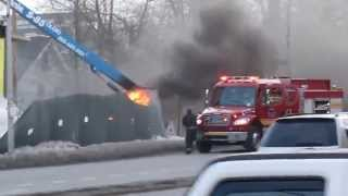 White Plains (NY) United States  city photos : Fire accident in Whiteplains, New York