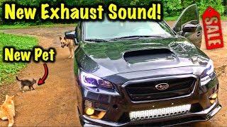 Rebuilt 2017 Subaru WRX Gets Exhaust
