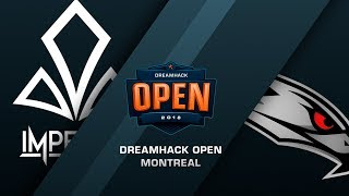 Imperial vs AGO - DreamHack Open Montreal - de_train [Enkanis, ceh9]
