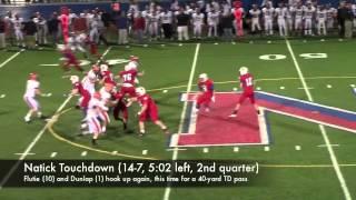 Boston Herald High School Football: No. 17 Natick 21, No. 5 Walpole 14