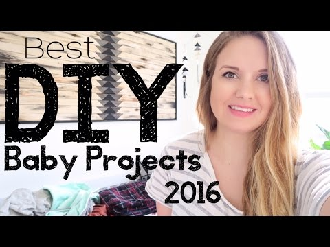 BEST D.I.Y. BABY ITEMS! || 2016 PROJECTS