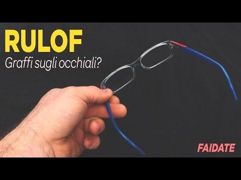 come far tornare nuovi gli occhiali rigati - fai da te