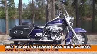 8. Used 2006 Harley Davidson Road King Classic Motorcycles for sale in Tifton GA