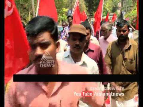 Conflicts-in-protest-march-against-Adoor-Prakash-09-03-2016