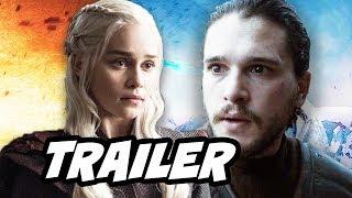 Game Of Thrones Season 7 Promo 2. Jon Snow, Daenerys Targaryen, Arya Stark, Drogon Dragon Battle, Jaime Lannister Casterly Rock and Dragonstone ► https://bit...