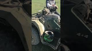 8. 2018 Yamaha Kodiak 450 broke down