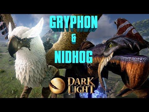 КАК ПРИРУЧИТЬ ГРИФОНА И NIDHOG - DARK AND LIGHT