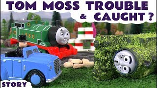 Thomas and Friends Prank Gone Wrong for Tom Moss | Funny family friendly toys video for kids