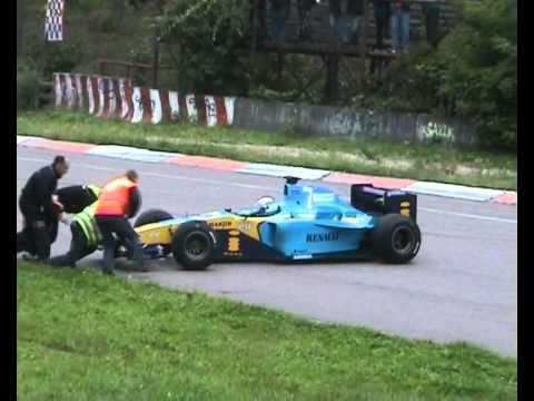 Video: F1 Biķernieku trasē