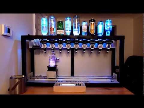 inebriator une machine cocktail designer industriel laurent marcoux. Black Bedroom Furniture Sets. Home Design Ideas