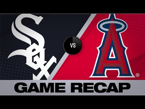 Video: Trout belts 40th HR in Angels' 8-7 victory | White Sox-Angels Game Highlights 8/15/19
