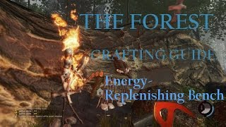 The Forest (Survival Horror Sandbox Crafting PC Game) Tutorial Crafting Guide: Bench
