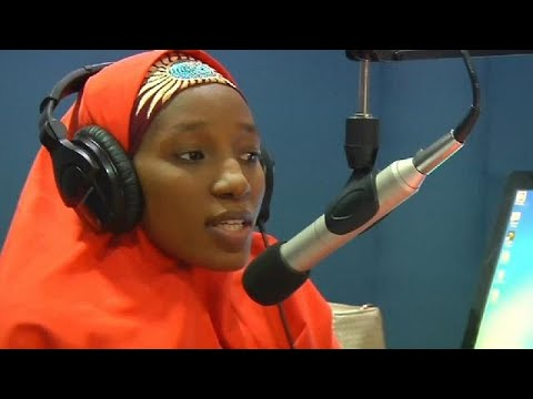Nigerian radio host defies threats from Islamic insurgents by staying on air