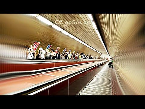 Status profundos - Longest Escalator is Deep in Prague Metro System.