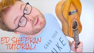 CASTLE ON THE HILL - ED SHEERAN (UKULELE TUTORIAL!)