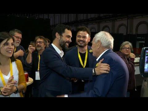 Spanien: Kataloniens Unabhängigkeitspartei jubelt