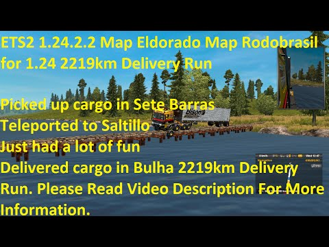 Map Eldorado Map Rodobrasil for 1.24