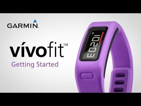 Garmin Vivofit - Kako začeti