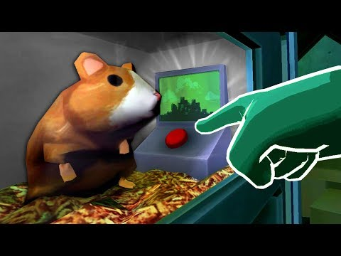 THE SECRET HAMSTER BUTTON - Please, Don't Touch Anything 3D (VR) (видео)