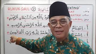 Video RUKUN QAULI 2 - Surah Fatihah b.1 MP3, 3GP, MP4, WEBM, AVI, FLV Maret 2019