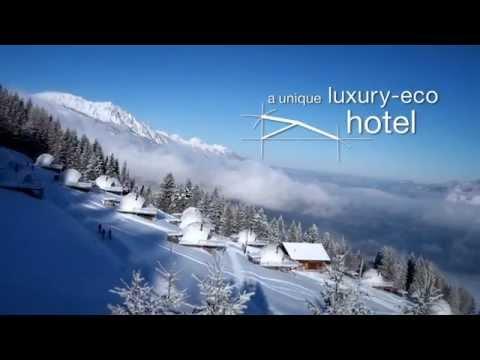 Отели: Whitepod — экодом в швейцарских альпах