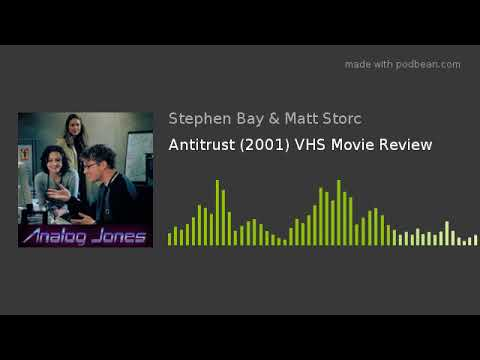 Antitrust (2001) Podcast VHS Movie Review