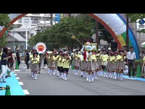大谷場東小学校金管バンド/東口B会場/ 第12回浦和よさこい2015