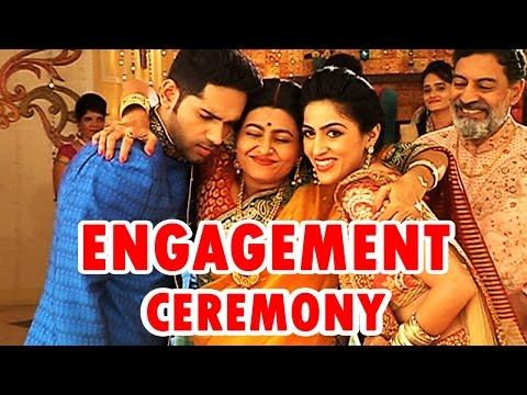 Dhruv and Shraddha's engagement ceremony