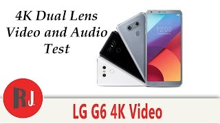 LG G6 4K video and audio quality test. Dual lens awesomeness.Check out PhonLab E-Campus, if you want to learn tons more about Phone repairs tips and tricks to help you repair smartphones. Use coupon code rootjunky9 at check out to get a nice discount.http://phonlab.teachable.com/?affcode=57417_o7w7j7zdHow to Identify the Code Name and model of your Android devicehttps://youtu.be/nCU45rgbDKwLink to RootJunky.com where you can find all my work in on easy to navigate place. tutorials, tips, tricks, root, restore, roms, Custom recovery and so much more.My Favorite Tech and what i used to make my youtube videoshttp://astore.amazon.com/root0f94-205 Things you need to know before rooting or hacking your android device https://youtu.be/n8LMyRqBViMHow to install Android Device drivers  http://youtu.be/j_KPGUMzrjUWhy Root Android devices video http://youtu.be/6vqnnLnOn3g Universal UnRoot App for all Devices http://youtu.be/ySNStU8OTuk My New Downloads Page is here http://rootjunkysdl.com/PLEASE READ Warning… do this at your own risk. I am not responsible for what you do to your device. I am happy to help with any problems my subscribers are having on their android devices. I am going to need lots of info from you to be able to help.  Because of the large amount of messages I get every day I will not answer any questions that do not include this info in the message thanks for understanding.  1.  What device you have.  2.  What android version you are running.  3.  What rom stock or custom rom / build number in about phone.  4.  What you have done to the device.  5.  Recovery stock, TWRP. CWM . With this info I will be able to help. FOLLOW ME http://RootJunky.comhttps://www.facebook.com/rootjunkyhttps://twitter.com/rootjunkyhttps://www.youtube.com/tomsgt123https://www.google.com/+Tomsgt123ilcoudunlockicloud lost modeapple IDinfobypassremovalhackicloud lockedactivation lockiphoneiphone 7