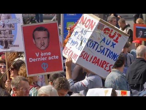 Νέες κινητοποιήσεις για τα εργασιακά στο Παρίσι
