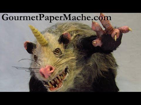 Unipossum – Paper Mache