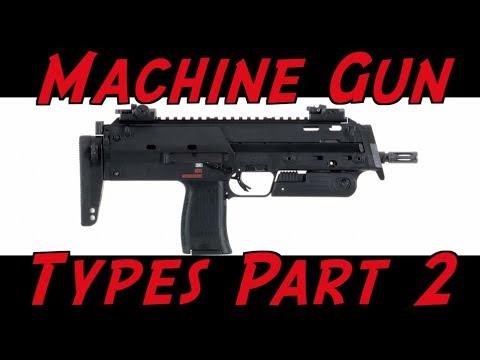 Machine Gun Terminology Part 2: SMG, PDW, & Machine Pistol