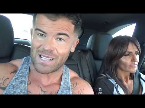 Carlos Master Trainer With The Girls On The Way To Matt Marsh (Warning)