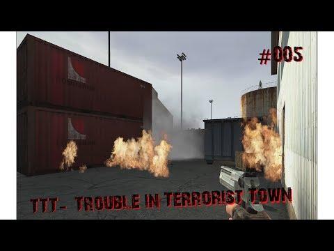 Garrys Mod - Überall Brandbomben - TTT #005 - Let's PlayGerman